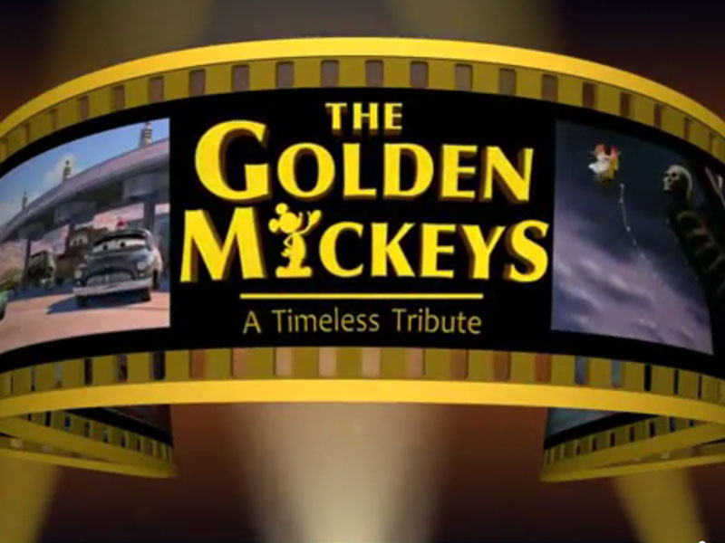 Animation: The Golden Mickeys