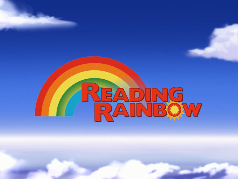 Animation:  Reading Rainbow App Intro