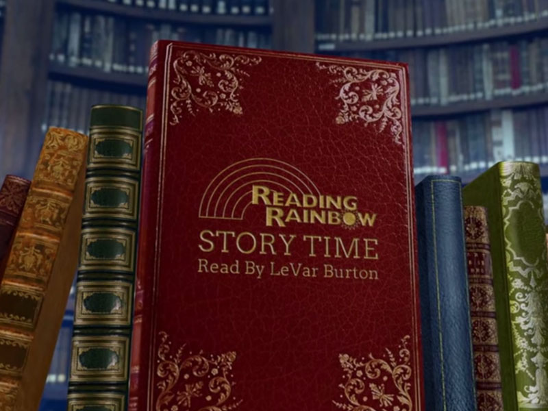 Animation: Reading Rainbow Story Time Intro