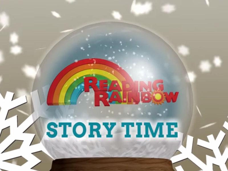 Animation: Reading Rainbow Story Time Intro (Holiday)