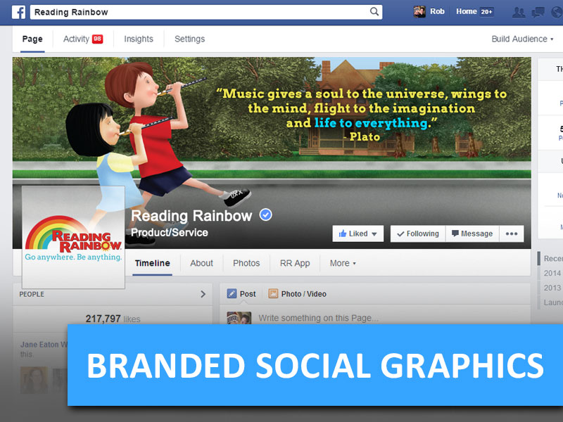 Branded Social Graphics